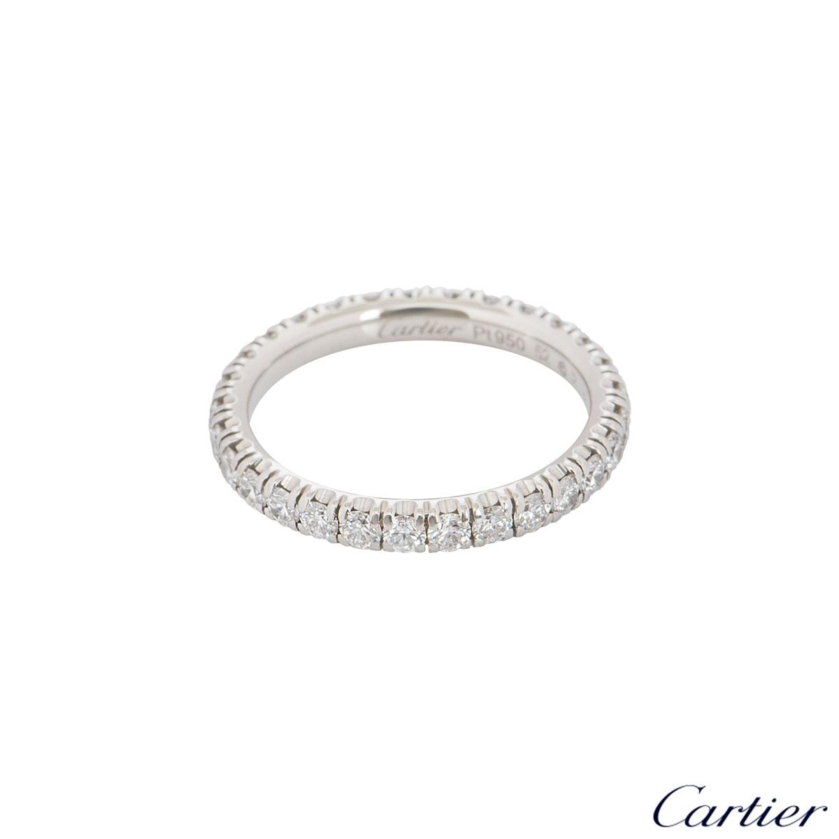 Cartier Platinum Diamond Étincelle De Cartier Ring B4087152